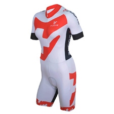 SILVER WOMEN CYCLING S/SLEEVE SUMMER SUIT